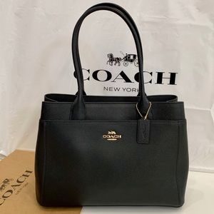 Coach brand new classic black bag